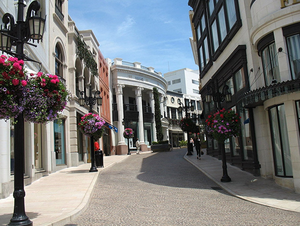 A Shopper's Mecca on Rodeo Drive Beverly Hills California United States