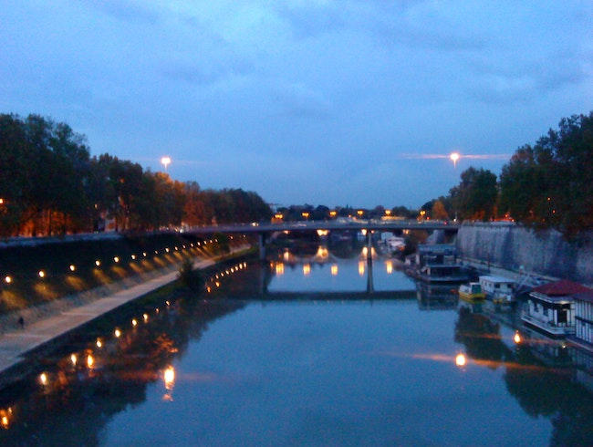 View of Tiber River