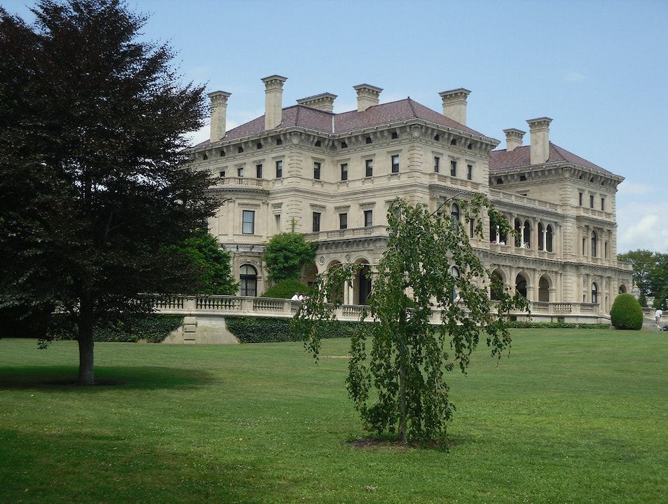 Touring the Mansions Newport Rhode Island United States