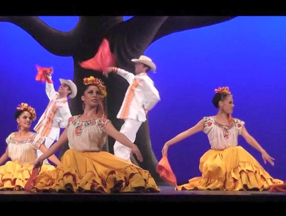 Mexican Folk Dance at its Finest