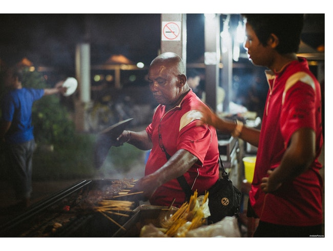 Get Your Satay Here