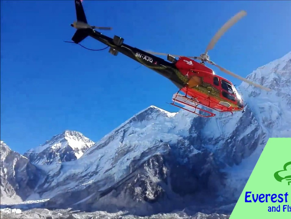 Everest Base Camp Trek and Fly back by helicopter Khumjung  Nepal