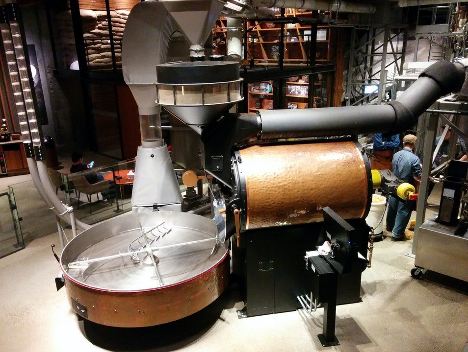 Sip a Cup at the Starbucks Roastery Seattle Washington United States