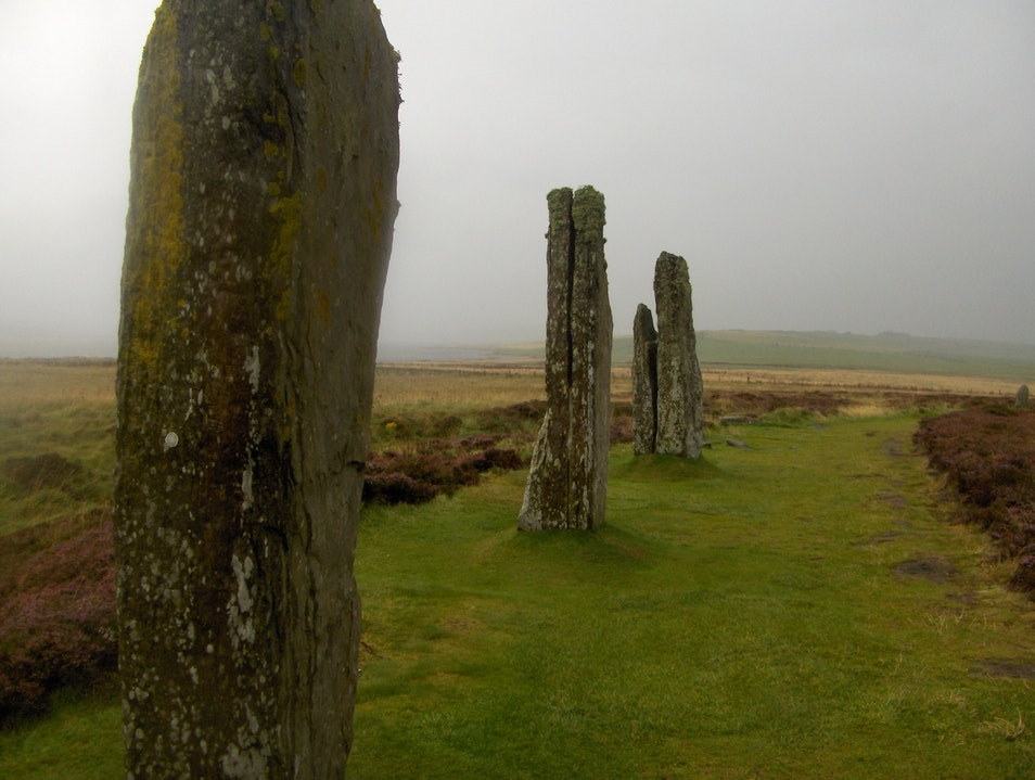 Ring of Brodgar Orkney  United Kingdom