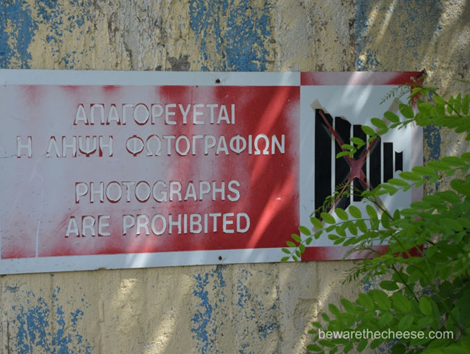 Cypriot Tips Part 2 - Photography On The Green Line