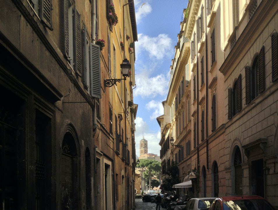 Explore the Cobblestoned Streets of Rome Rome  Italy