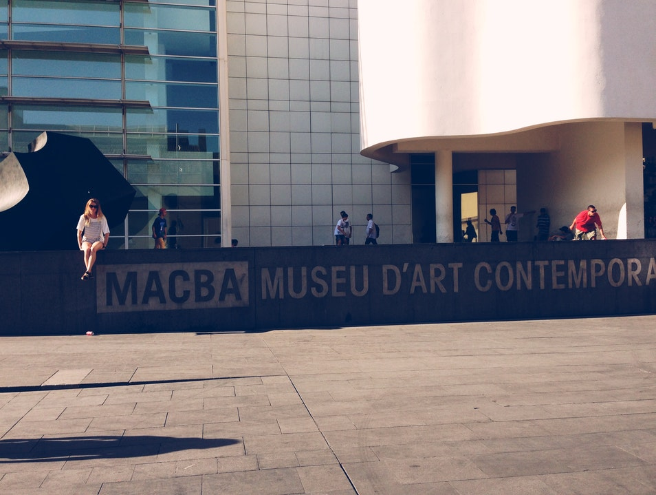 MACBA: great art, great skateboarding