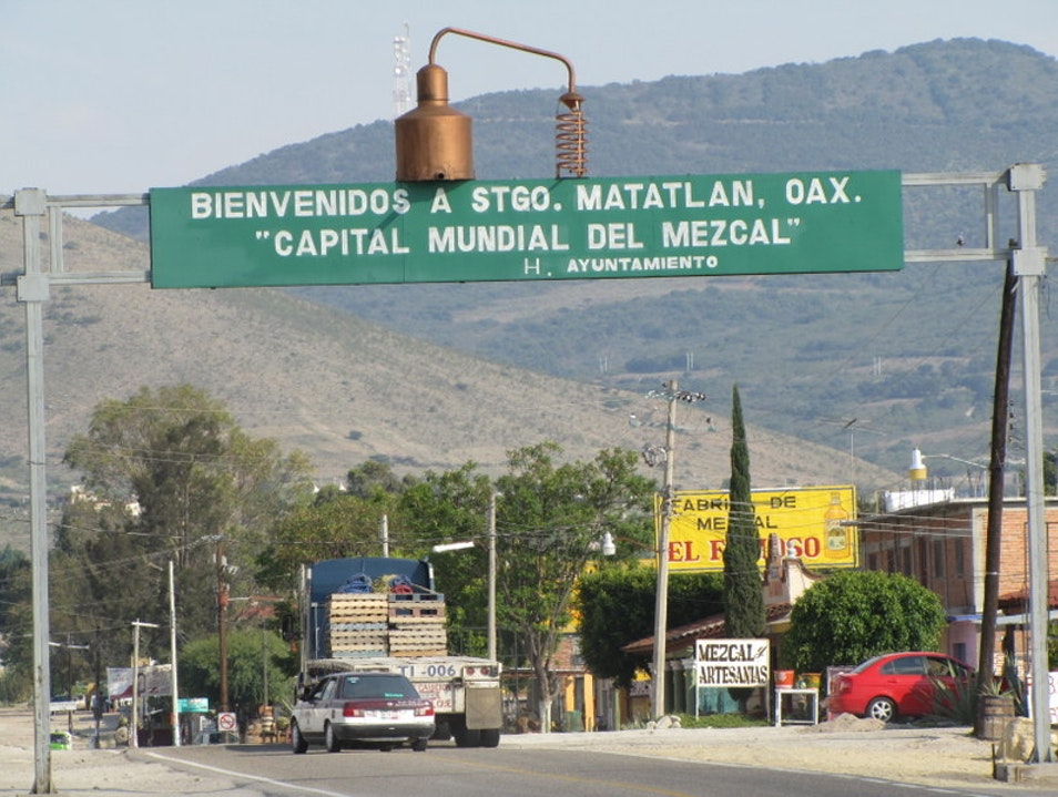 World Capital of Mezcal Santiago Matatlan  Mexico
