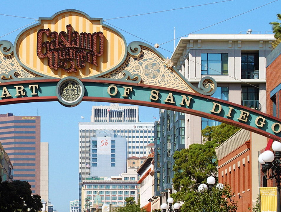 Gaslamp Quarter San Diego California United States