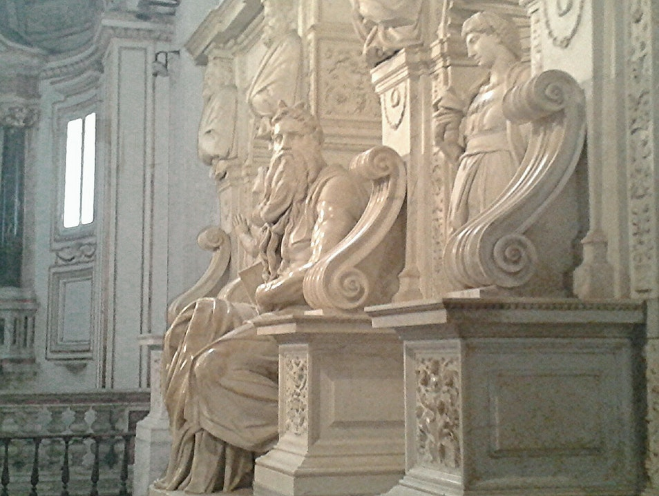 "Michelangelo's ""Moses"" Rome  Italy"