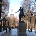 The Old North Church Boston Massachusetts United States