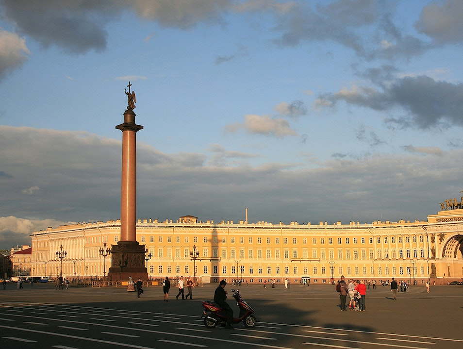 Palace Square St. Petersburg  Russia