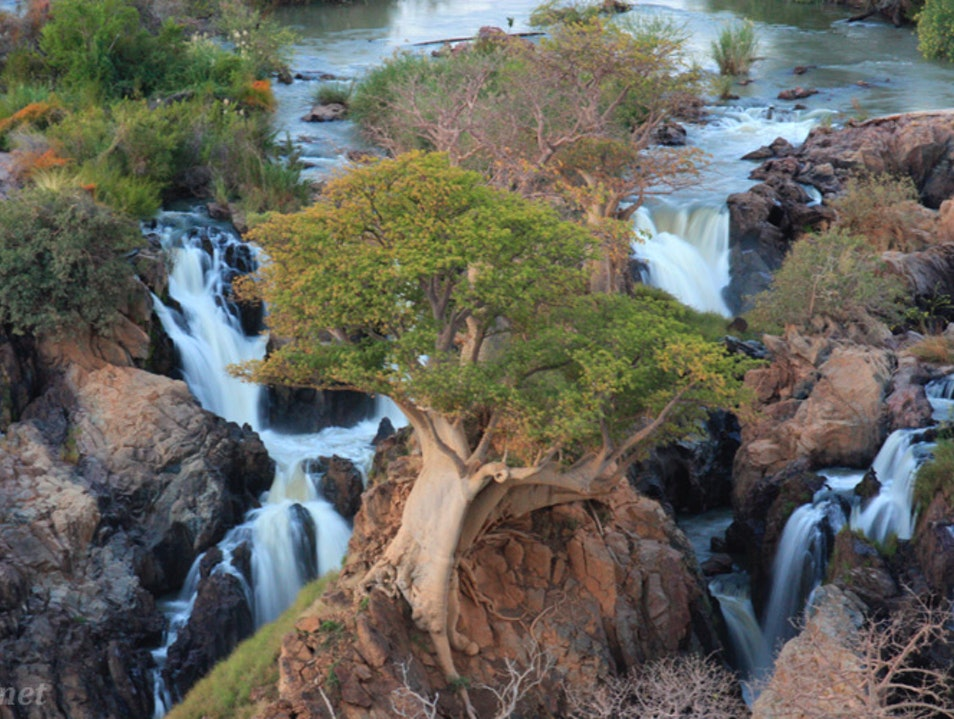 A Rush of Water in a Desert Country: Epupa Falls, Namibia Kunene  Namibia