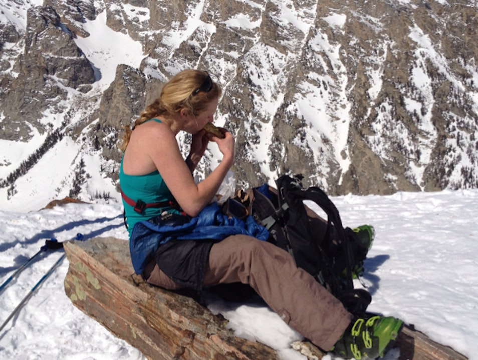 Eating Lunch In The Back Country