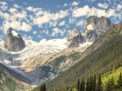 Bugaboo Mountains near Radium  Hot Springs Radium Hot Springs  Canada