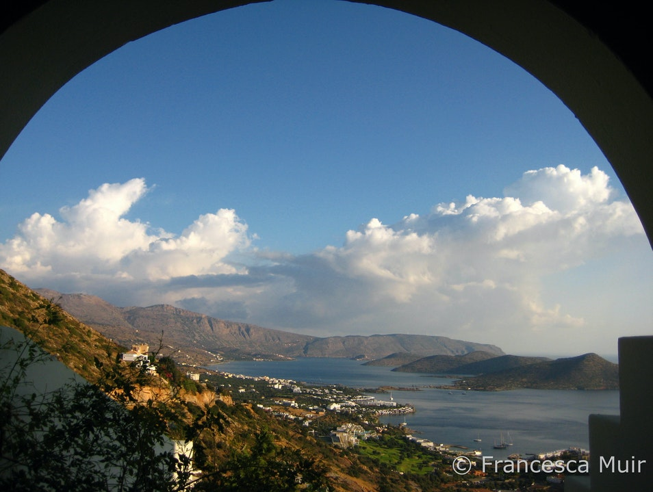 The room with a view Lasithi  Greece