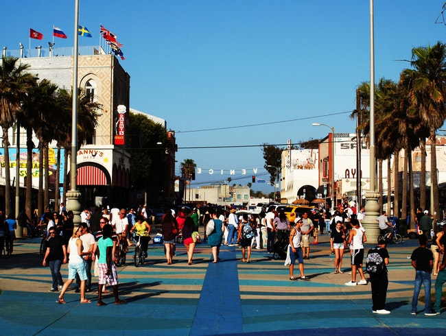 Venice Beach Boardwalk: For that California Vibe