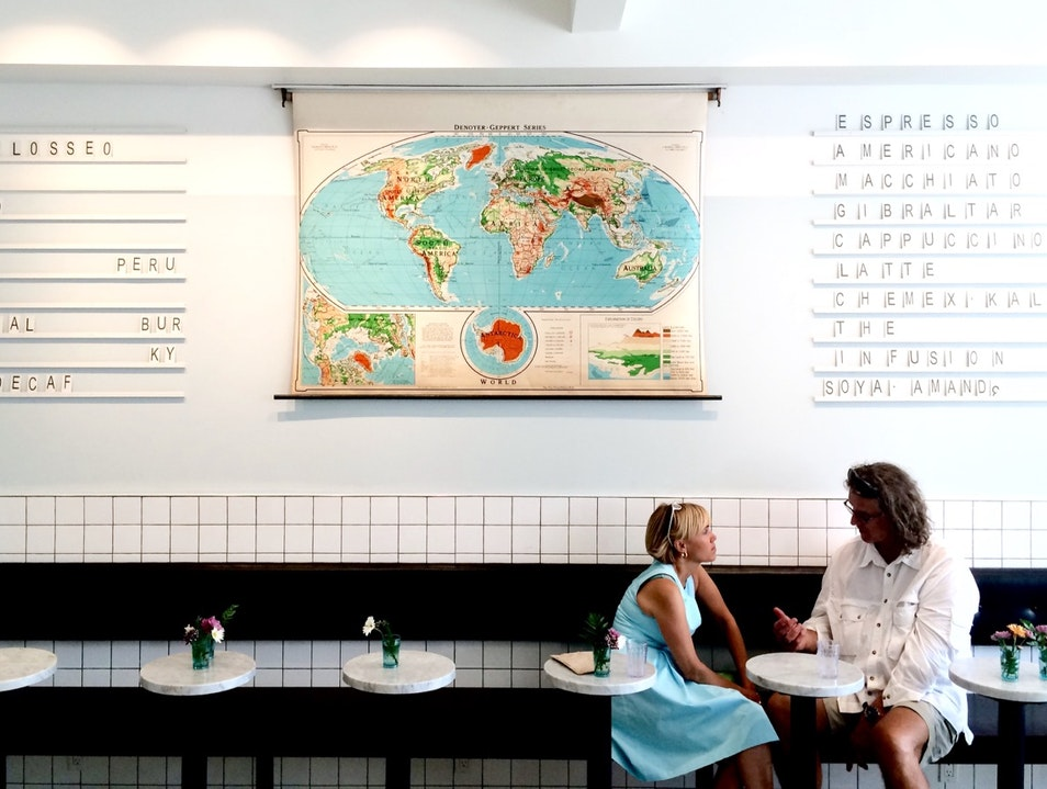 Third-Wave Coffeeshop Mingles With Italian Traditions Montreal  Canada