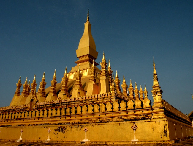 Big Golden Wat ThatLuang