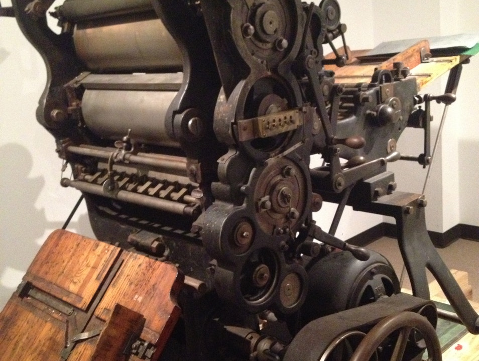 A Printing Museum in Houston Houston Texas United States