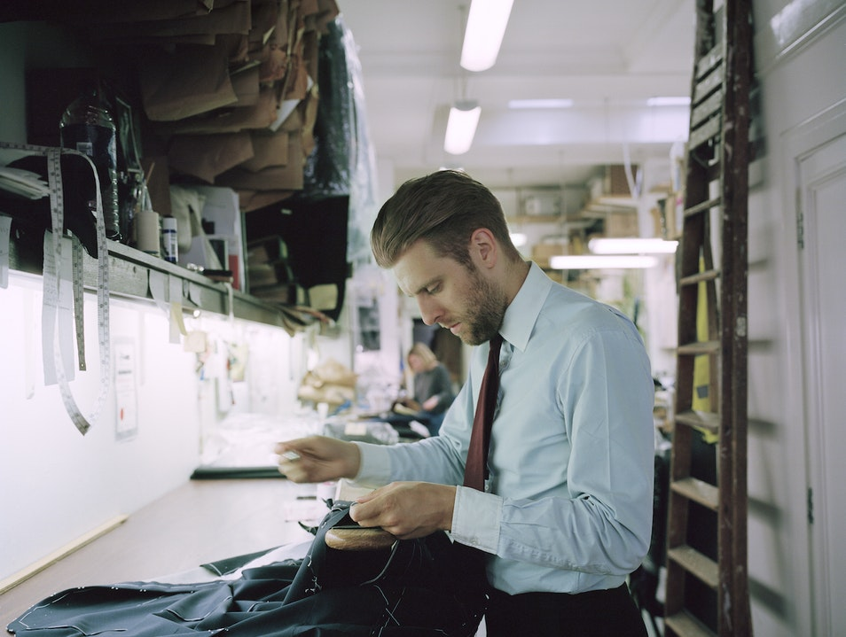 Look Dapper Thanks to Norton & Sons in Mayfair