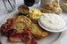 Fried Green Tomato Breakfast at EAT New Orleans