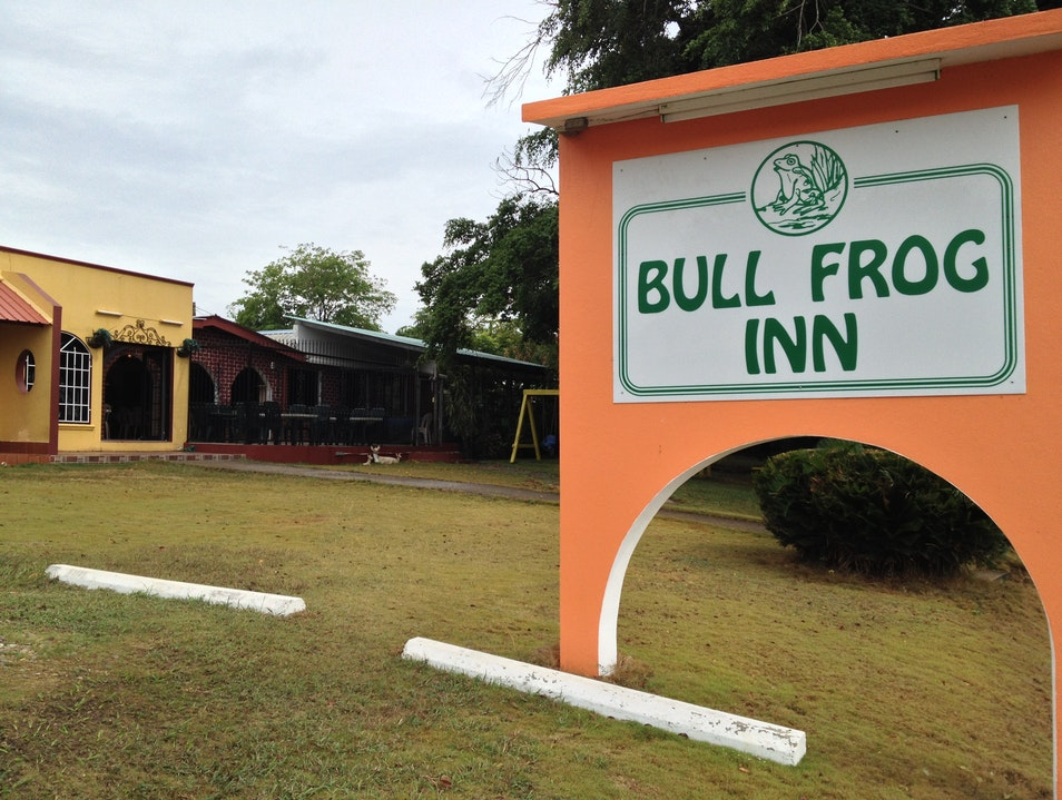 Stay at the Bullfrog Inn Belmopan  Belize