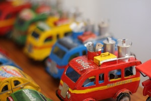 Miniature Recycled Toy Workshop
