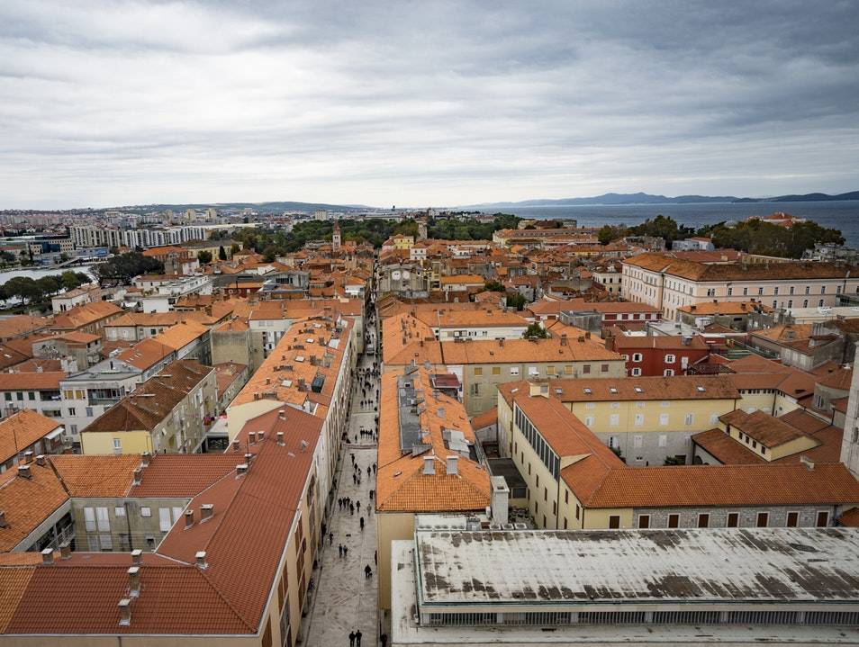 A Bird's-Eye View Zadar  Croatia