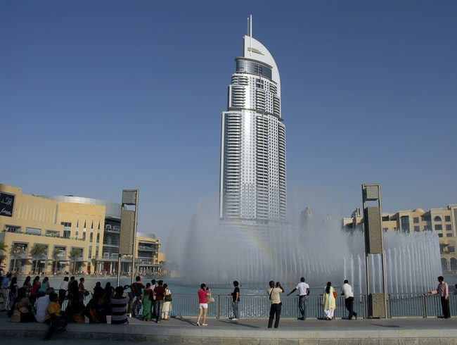 Water Fountain in Dubai