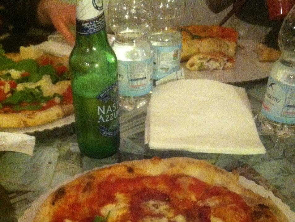 Best Pizza Ever Florence  Italy