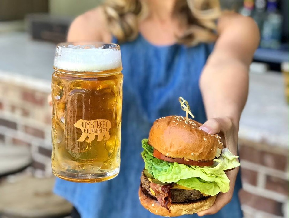 Bay Street Biergarten Charleston South Carolina United States