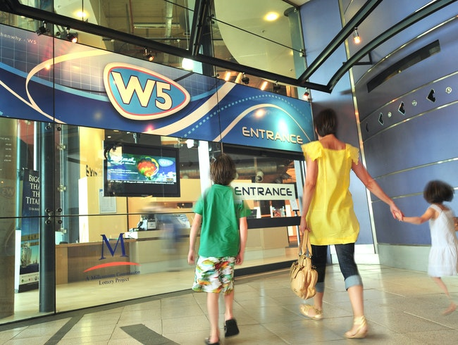 Who, What, Where, When and Why at W5
