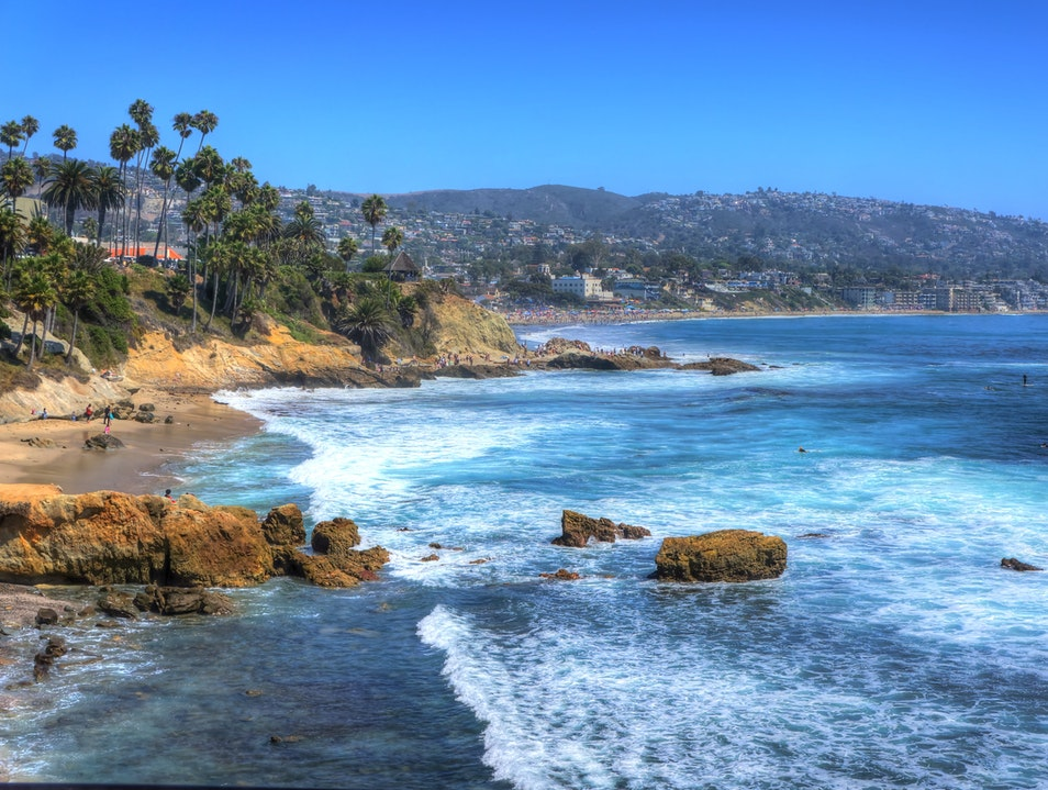 Heisler Park Laguna Beach California United States