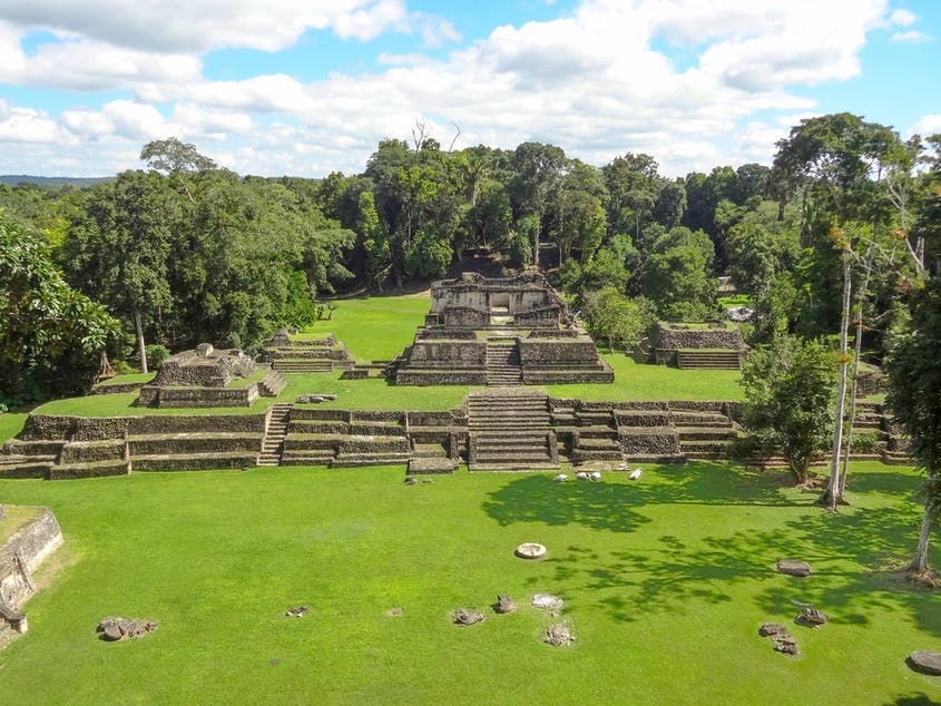 The Caana complex is the tallest structure in Belize.