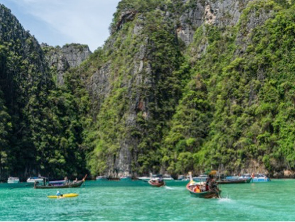 Phuket and Phi Phi Islands Si Sunthon  Thailand