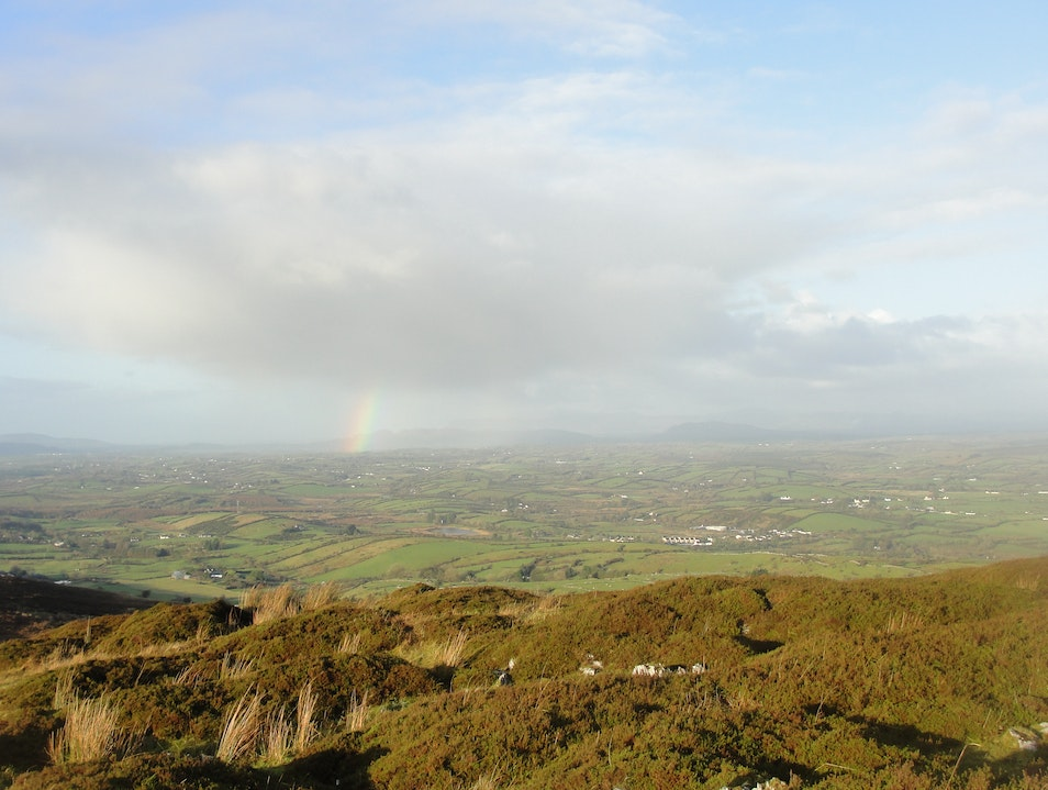 Rainbow over Carrowkeel Roscommon  Ireland