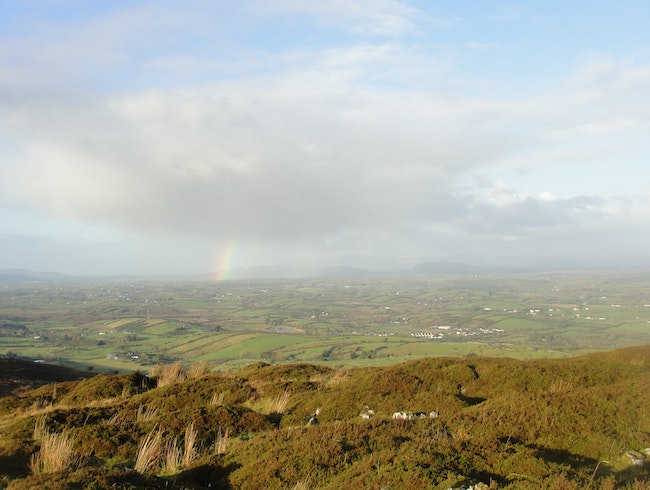 Rainbow over Carrowkeel