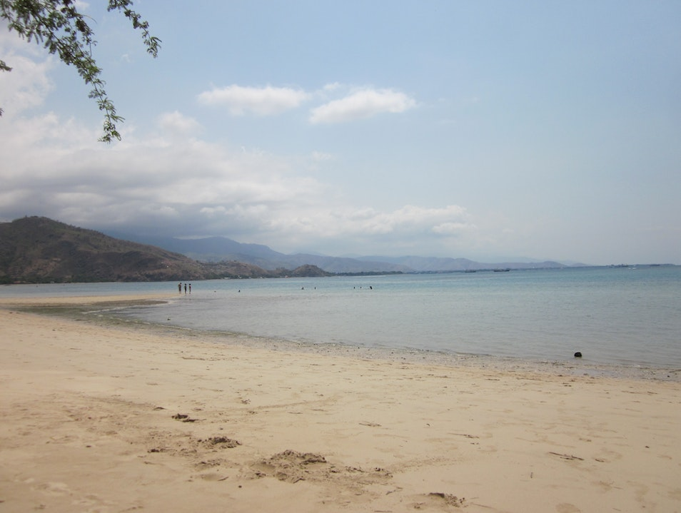 It's all about the beach. Dili  Timor-Leste