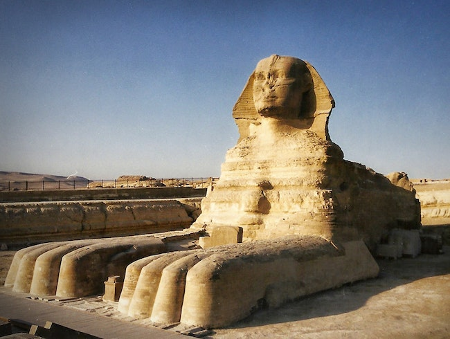 The Great Sphinx Greets the Morning Sun