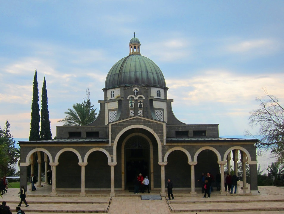 Church of the Beatitudes Eastern Upper Galilee  Israel