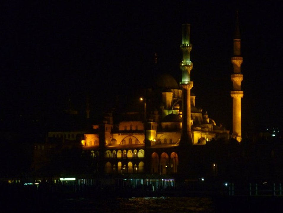 Mosque at Midnight