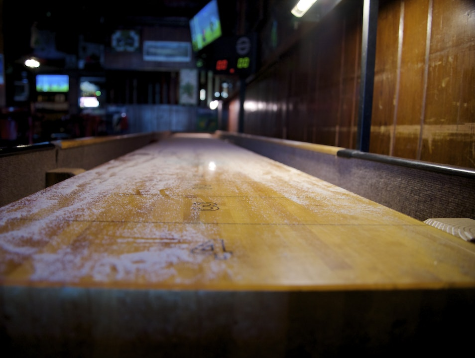Shuffle Board at Behan's Burlingame California United States