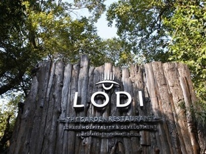 Lodi the Garden Restaurant New Delhi  India