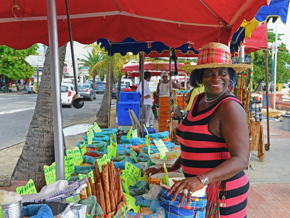 Guadeloupe's vibrant outdoor markets