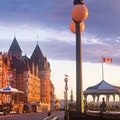Terrasse Dufferin Quebec City  Canada