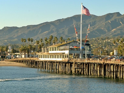 Stearns Wharf Santa Barbara California United States