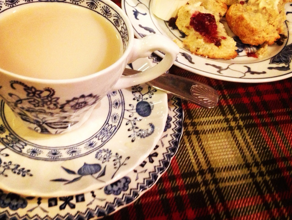 Delightful Tea And Delicious Scones  San Francisco California United States