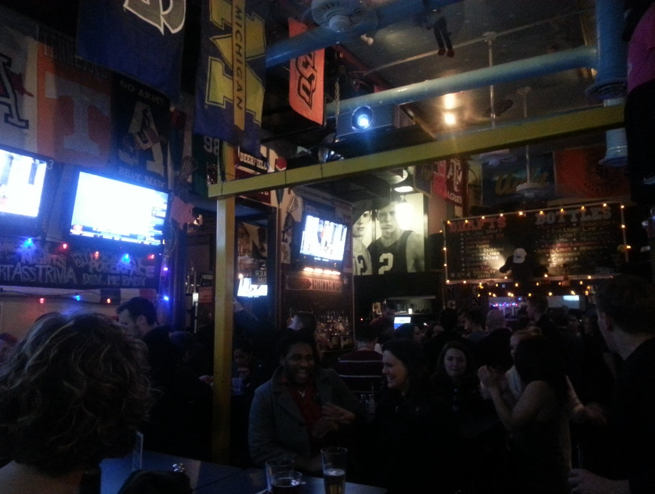 A Welcoming Sports Bar