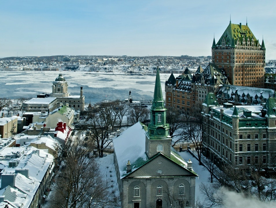 Picturesque Wintery Escapes from Montreal Quebec  Canada